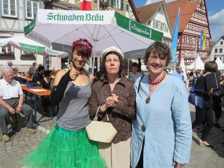 Strassengottesdienst in Backnang